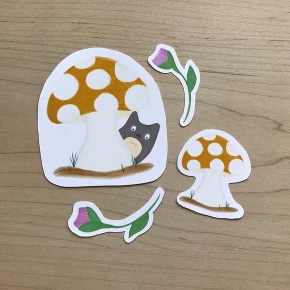 Peek A Boo Sticker Pack