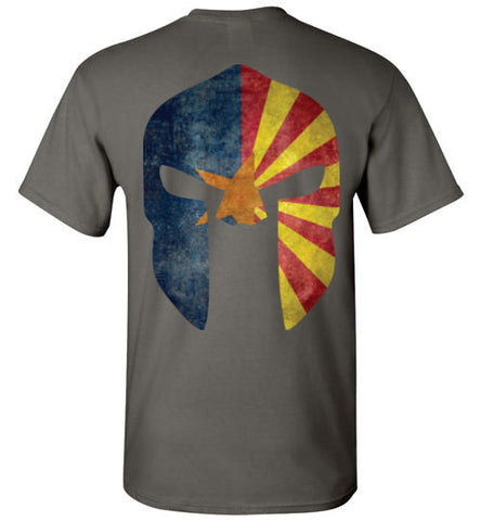 Arizona State Flag Spartan Helmet