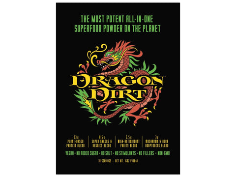 Dragon Dirt: Bobby's New Signature Superfood Powder - 28-serving Eco-Size