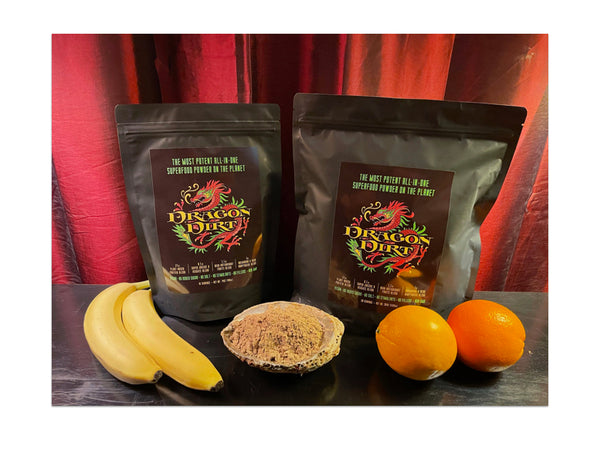 Dragon Dirt: Bobby's New Signature Superfood Powder - 10 or 28-serving Size Bags
