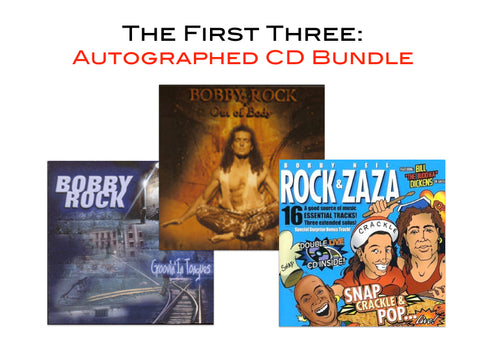 The First Three: Autographed CD Bundle