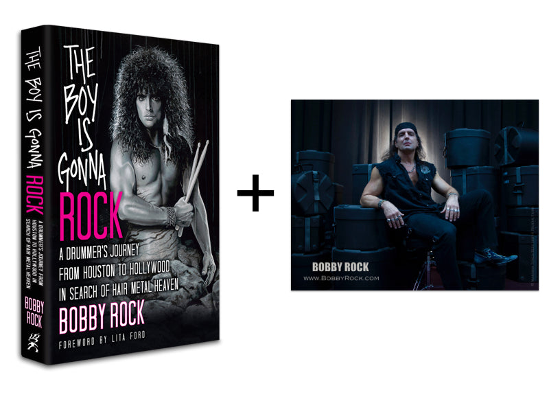 Book And Photo The Bobby Rock Store