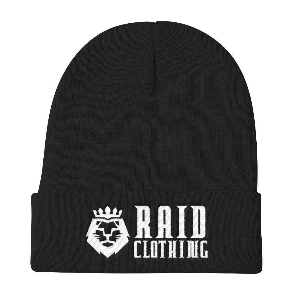 Black Raid with Lion Beanie