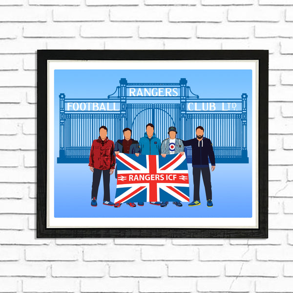 Billy Britain - (A4) Framed Poster