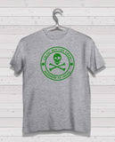 Celtic CSC Grey Short Sleeve TShirt -  Green Print