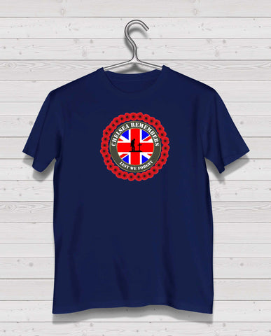 Chelsea Remembers - Navy TShirt
