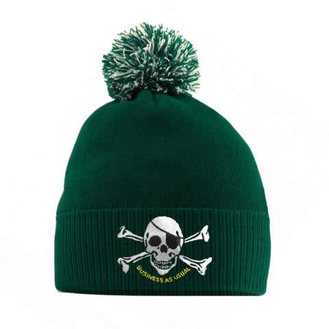 Born Casual Beanie - Dark Green CSC