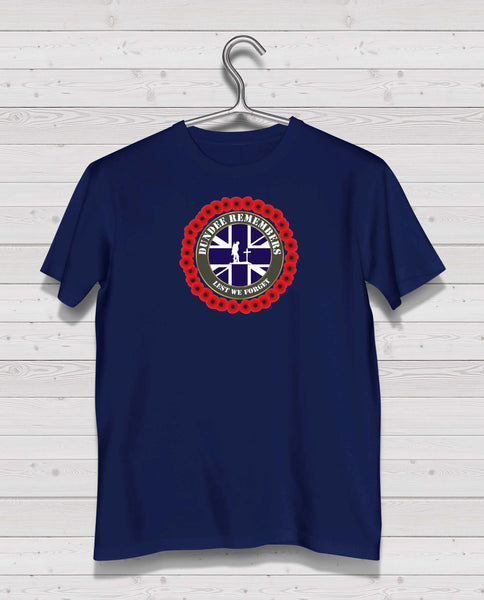 Dundee Remembers - Navy TShirt