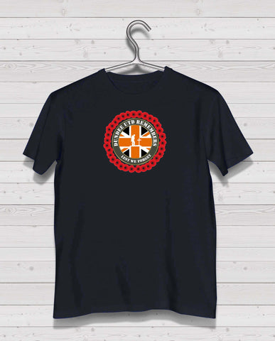 Dundee Utd Remembers - Black TShirt