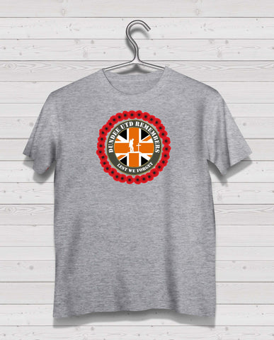 Dundee Utd Remembers - Grey TShirt
