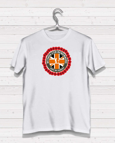 Dundee Utd Remembers - White TShirt l