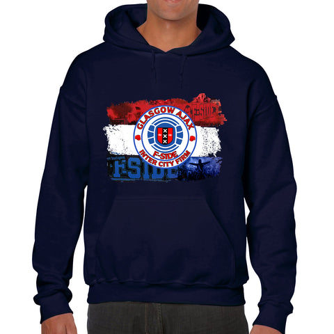 Ajax FSide & Inter City Firm - Casual Style Navy Hoodie