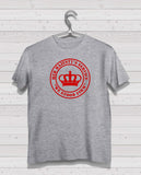 Rangers HMS Grey Short Sleeve TShirt -  Red Print
