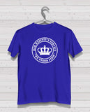 Rangers HMS Royal Blue Short Sleeve TShirt - White Print