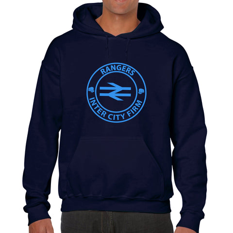 """Inter City Firm!""  Rangers Casual Style Navy Hoodie"
