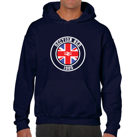 """Section Red!""  Rangers Casual Style Navy Hoodie"