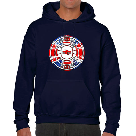 """Rangers Youth!""  Rangers Casual Style Navy Hoodie"