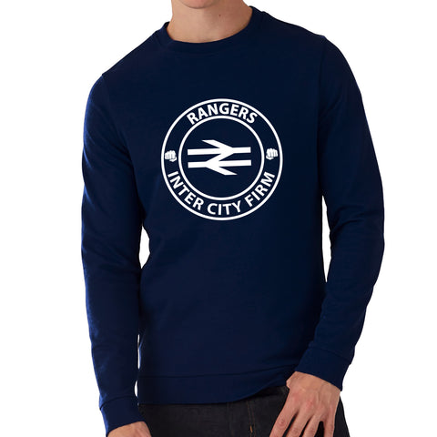 """Inter City Firm""  Rangers Casual Style Navy Sweatshirt"