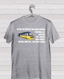 Rangers ICF Grey Short Sleeve TShirt -  Inter City Train