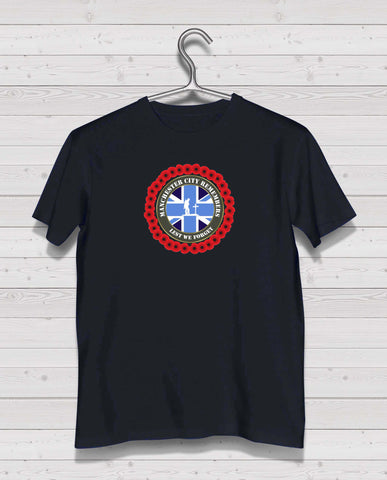 Manchester City Remembers - Black TShirt