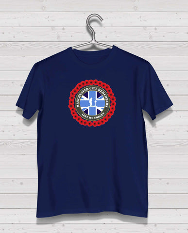 Manchester City Remembers - Navy TShirt
