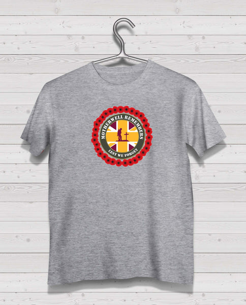 Motherwell Remembers - Grey TShirt