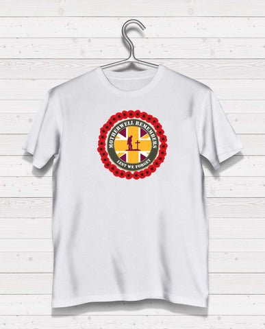 Motherwell Remembers - White TShirt
