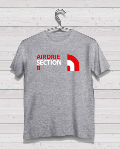 Airdrie North Style Grey Short Sleeve TShirt