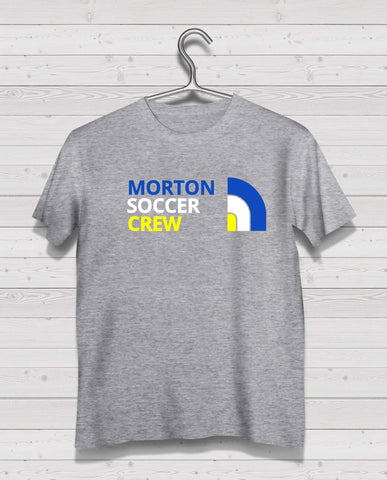 Morton North Style Grey Short Sleeve TShirt