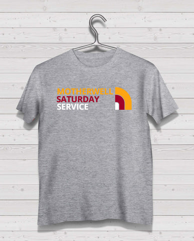 Motherwell North Style Grey Short Sleeve TShirt
