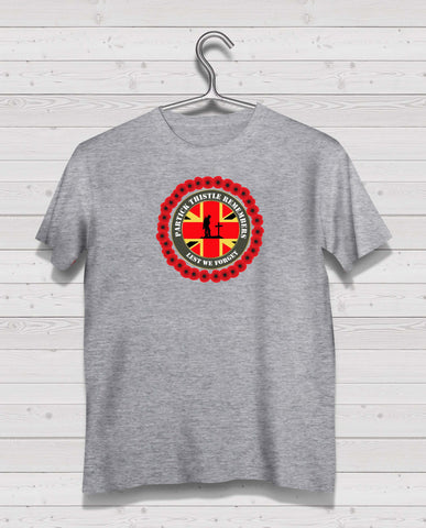Partick Thistle Remembers - Grey TShirt