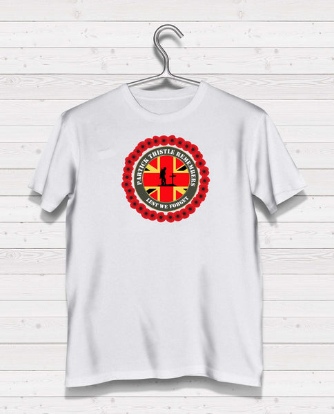 Partick Thistle Remembers - White TShirt