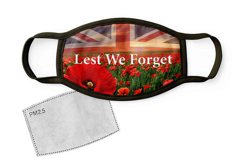 Lest we forget - Poppy Mask