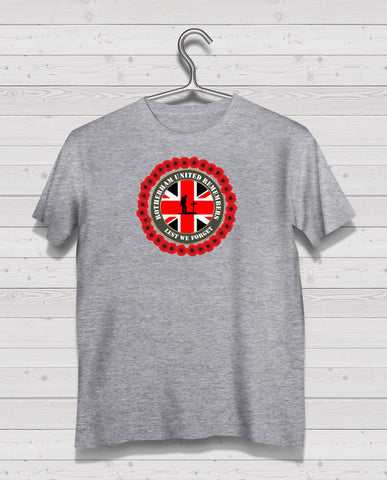 Rotherham Utd Remembers - Grey TShirt