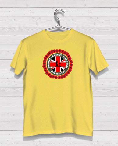 Rotherham Utd Remembers - Yellow TShirt