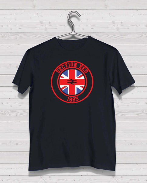 Rangers - Section Red Black Short Sleeve TShirt