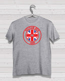 Rangers - Section Red Grey Short Sleeve TShirt