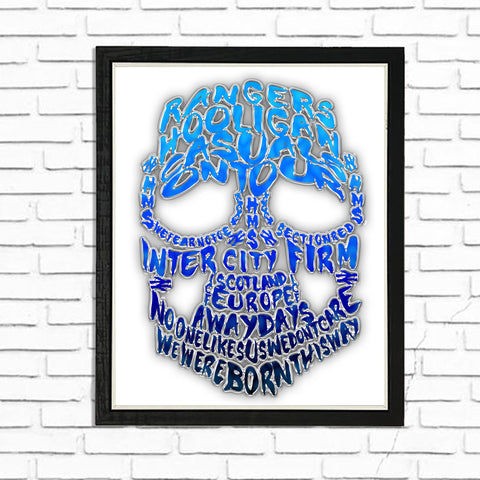 ICF Hooligans on Tour - (A4) Framed Poster