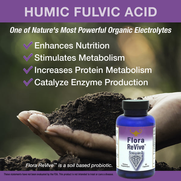 Benefits of Humic-Fulvic Acid