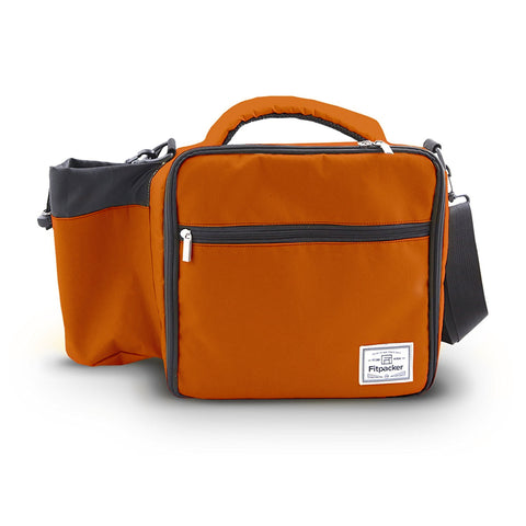 The Satchel (Rusted Red) Meal Management Bag