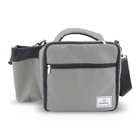The Satchel (Sterling Grey) Meal Management Bag
