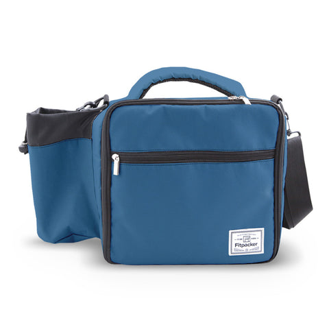 The Satchel (Slate Blue) Meal Management Bag
