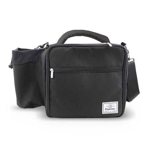 The Satchel (Midnight Black) Meal Management Bag