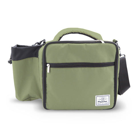 The Satchel (Sage Green) Meal Management Bag