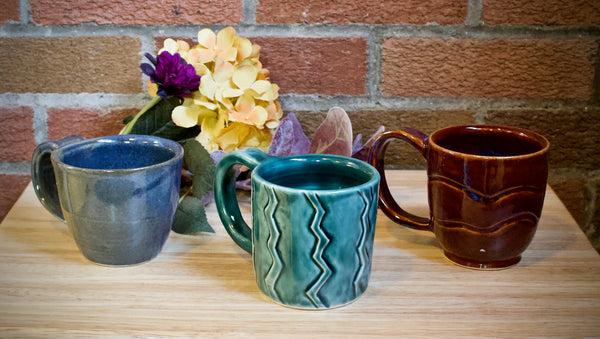 Set of Three Mugs
