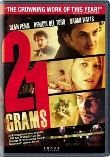 21 Grams DVD (Free Shipping)
