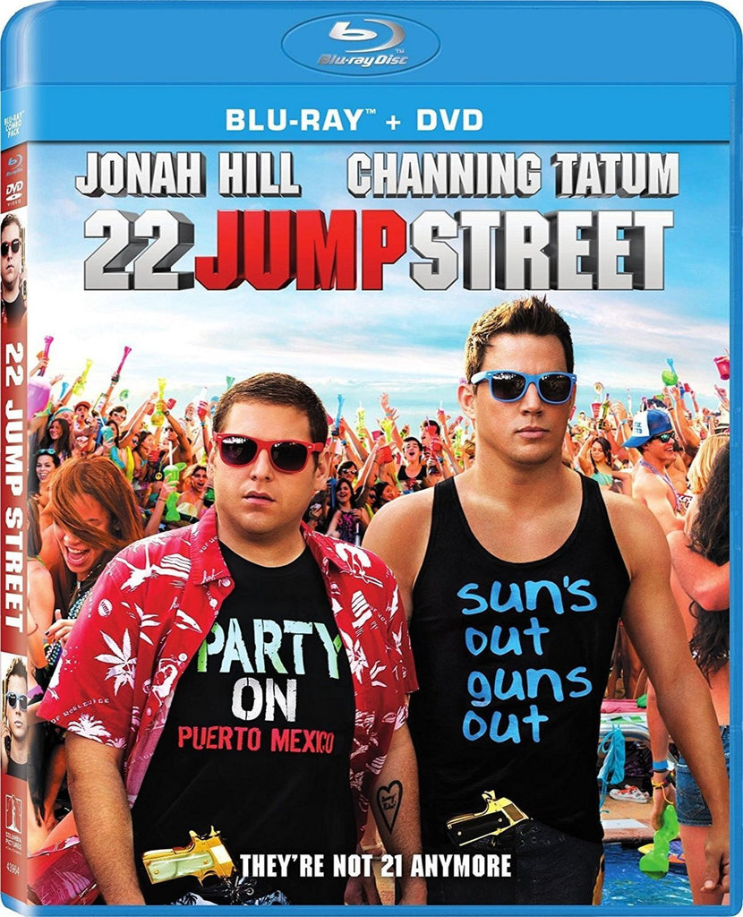 22 Jump Street Blu-ray + DVD (2-Disc Set) (Free Shipping)