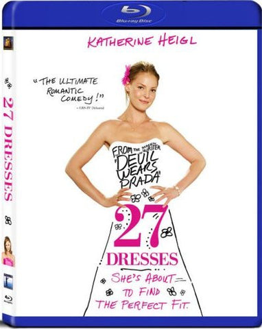 27 Dresses Blu-Ray (Free Shipping)