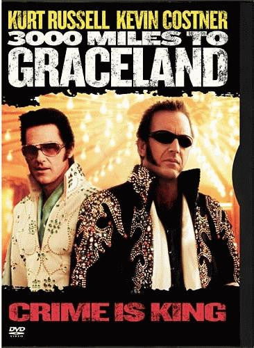 3000 Miles To Graceland DVD (Free Shipping)