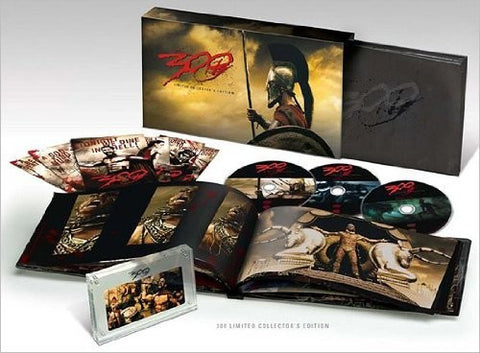 300 DVD (Limited Collector's Edition) (Free Shipping)